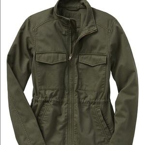 Gap Factory Army Green Utility Jacket NWT Size S